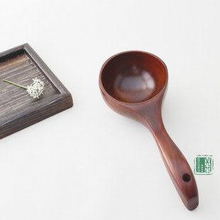 超可愛實木小湯勺  酸棗木 特色餐具容器