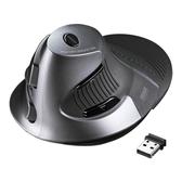 全館83折 日本Sanwa無線/有線垂直鼠標2.4G激光手握式直立健康人體工學創意usb臺式機筆記本