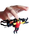 無人機 空中飛人遙控飛機特技四軸遙控飛行器耐摔飛天摩托無人機兒童玩具  優拓