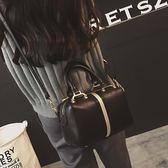小包包新款秋冬歐美時尚復古波士頓女包枕頭包單肩斜挎手提包