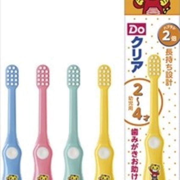 【日本製】【SUNSTAR】Do-Clear 兒童牙刷 2-4歲 柔軟(一組:6個) SD-1140 - 日本製 熱銷 SUNSTAR