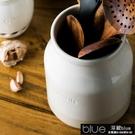 朵頤歐式陶瓷收納罐筷子勺收納筒創意筷子架餐具收納盒廚11-14【全館免運】