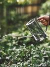 不銹鋼長嘴塑料灑水壺家用澆花壺施肥壺淋花盆栽澆水神器園藝工具 樂活生活館