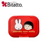 【日本正版】櫻桃小丸子 x 米飛兔 濕紙巾蓋 日本製 濕紙巾盒蓋 重複黏 小丸子 Miffy Bitatto - 521268