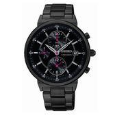 SEIKO 精工獨立風采三眼時尚腕錶/7T92-0VN0SD/SNDV27P1