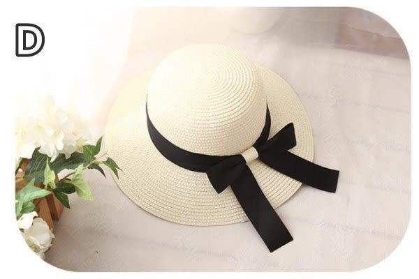 現貨 大蝴蝶結款草帽  大童 親子 成人 女童  太陽帽 防曬帽 遮陽帽【B708】