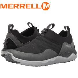 【MERRELL 美國 男款 ISIX8 MESH MOC 健行鞋《黑》】ML91363/休閒鞋/健行/運動鞋