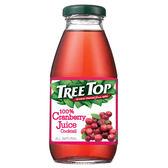 樹頂100%蔓越莓綜合果汁300ml 玻璃罐【合迷雅好物超級商城】