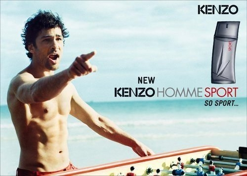 KENZO 高田賢三 Pour Homme Sport 海洋藍調 運動淡香水 5ML香水分享瓶◐香水綁馬尾◐
