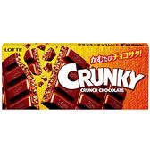 LOTTE Crunky脆心巧克力片裝 45g【愛買】