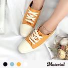 休閒鞋 小方頭拼接休閒鞋 MA女鞋 T6827