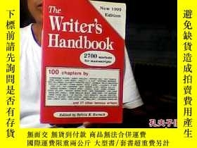 二手書博民逛書店THE罕見WRITER S HANDBOOK18910 SYLV