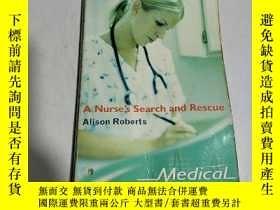 二手書博民逛書店A罕見Nurse s search and rescue(英文)