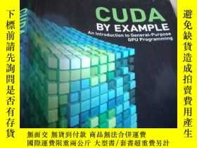 二手書博民逛書店CUDA罕見by Example:An Introduction