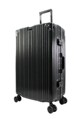 26吋古典鋁框旅行箱-黑色