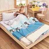 床包/ 雙人床包被套四件組.獨家春夏新品.超柔雲絲絨-溫暖之家 / 伊柔寢飾
