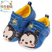 《布布童鞋》Disney迪士尼塗鴉Q米奇藍色寶寶休閒鞋(13~15公分) [ D9U810B ]