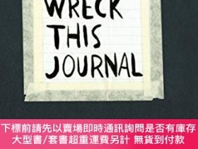 二手書博民逛書店Wreck罕見This Journal: To Create is to Destroy, Now with Ev