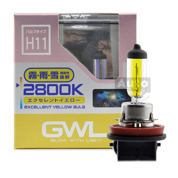 日本MIRAREED GWL 2800K黃金光燈泡