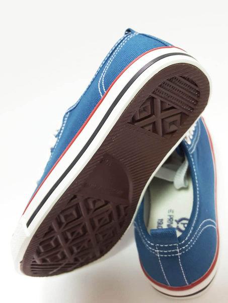 中童 專櫃普萊米 MIT帆布鞋《7+1童鞋》D257藍色