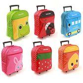 兒童拉桿卡通旅行箱幼兒園小學生拉桿書包寶寶行李箱1-3年級