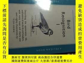 二手書博民逛書店BIRD罕見RECOGNITION 1 BY JAMES FIS