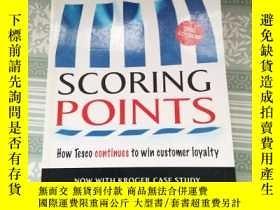 二手書博民逛書店英文原版罕見Scoring Points: How Tesco