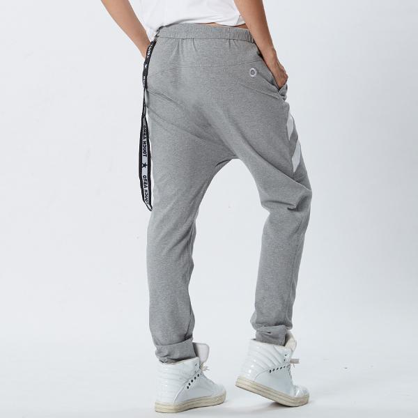 個性不對稱造型嘻哈褲TA719 (版型偏大 / 商品不含配件)- 百貨專櫃品牌 TOUCH AERO 瑜珈服有氧服韻律服