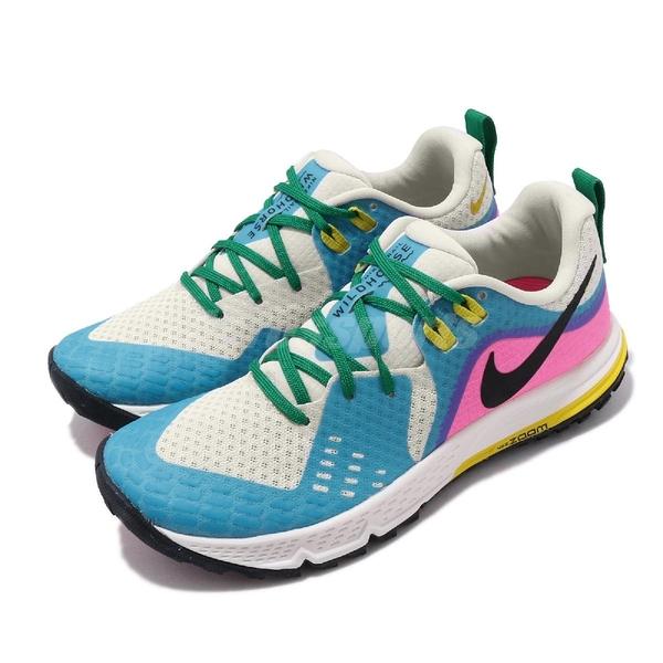 【五折特賣】Nike 慢跑鞋 Air Zoom Wildhorse 5 彩色 女鞋 越野跑鞋 運動鞋【PUMP306】 AQ2223-100