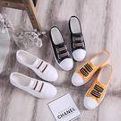 小白鞋女鞋夏季新款百搭正韓學生春季平底懶人帆布休閒板鞋子