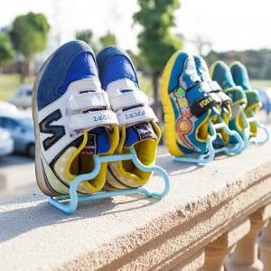 【一起瘋】二合一可立可懸掛兒童鞋架 (2個裝)   顏色隨機出貨