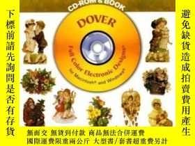 二手書博民逛書店Old-fashioned罕見Vignettes Cd-rom And Book (dover Full-colo