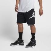 Nike 短褲 Jordan Jumpman Air Flc Shrt 男款 運動褲 棉褲 棉質 黑 白 黑白 【PUMP306】 AQ3116-010