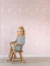 「庫存有限價格」兒童房  女孩房 粉色動物纹 壁紙 荷蘭 Little Dutch / Adventure pink 8683
