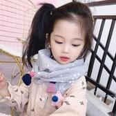 兒童圍巾春秋冬季薄款寶寶圍脖女童可愛男童韓版潮兒童保暖三角巾