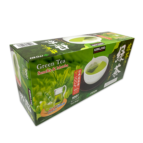 Kirkland Signature科克蘭 日本綠茶包 1.5公克X100包