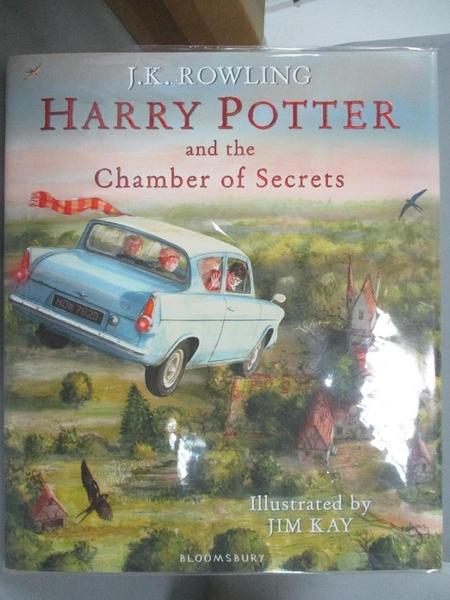 【書寶二手書T5/一般小說_E9X】Harry Potter and the Chamber of Secrets: Illustrated Edition_J.K. Rowling,Jim Kay