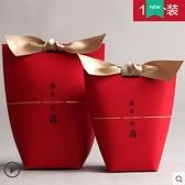 2019新款吾家有喜糖盒子中國風婚禮滿月百日宴紅色中式結婚喜糖 夢幻衣都