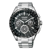 CITIZEN GPS衛星對時光動能鈦腕錶/黑/CC9015-54E