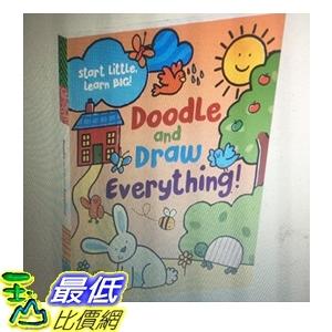 [COSCO代購] W1273990 兒童繪圖本 ( 外文書 ) Doodle N Draw