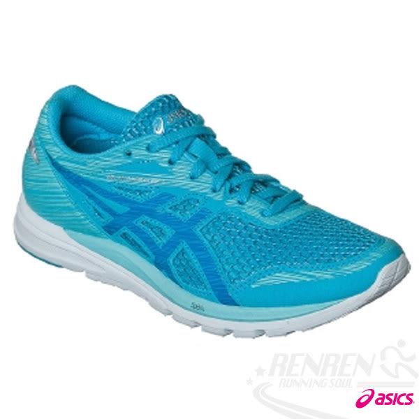 ASICS亞瑟士 女路跑鞋 LADY GELFEATHER GLIDE 3(藍)
