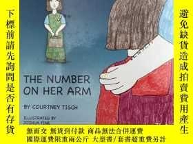 二手書博民逛書店THE罕見NUMBER ON HER ARM BY COURTN