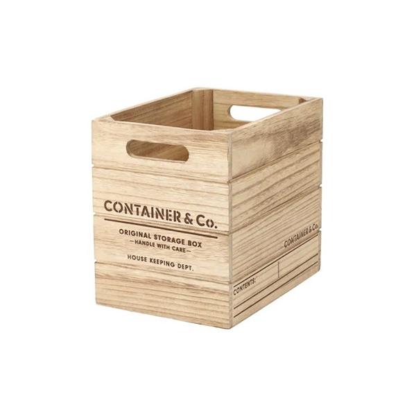 木製收納盒 SHACK2 窄高型 直式半格型 NA NITORI宜得利家居