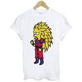 Bart-Seven Star短袖T恤 白色 趣味玩翻卡通街頭插畫塗鴉潮流時尚平價t-shirt $390 Gildan