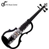 JYC Music 高階SV-150文藝花紋靜音提琴(雙輸出/三段EQ) 限量!!