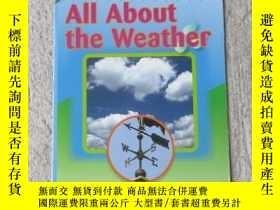 二手書博民逛書店All罕見About the Weather(Science )