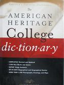 ~書寶 書T1 /字典_ZAS ~The American Heritage College Dictionary_American Heritage_ 附光碟