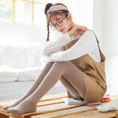 秋季黑色光腿面膜外穿打底褲女薄款磨毛踩腳連腳褲襪一體顯瘦衛生褲 9號潮人館