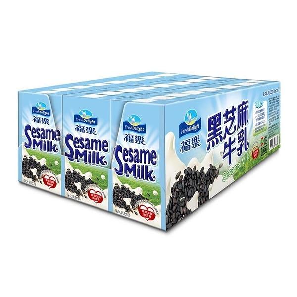 福樂黑芝麻保久乳飲品200毫升 X 24入