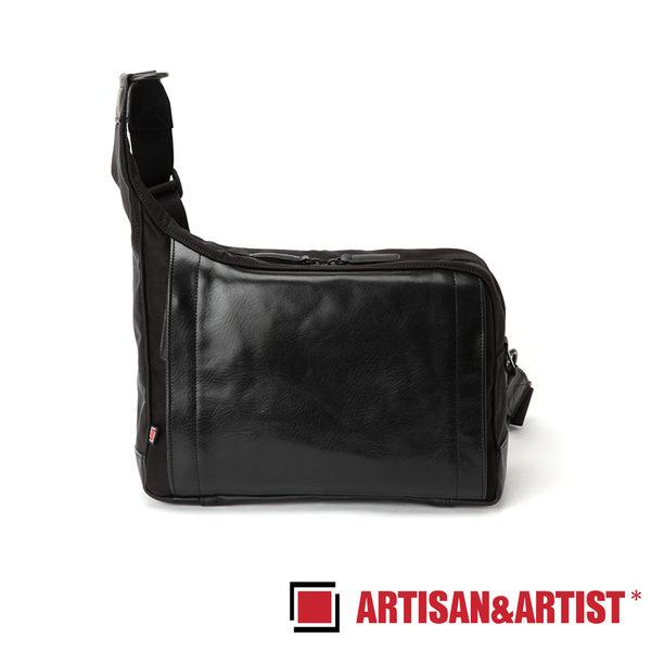 ARTISAN & ARTIST 皮革斜肩相機包 RR4-05C(黑)